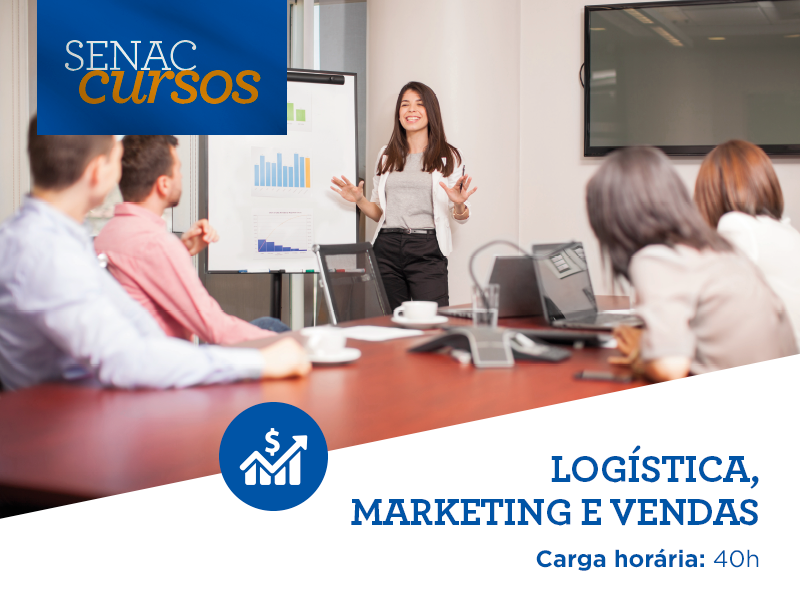 logistica, marketing e vendas